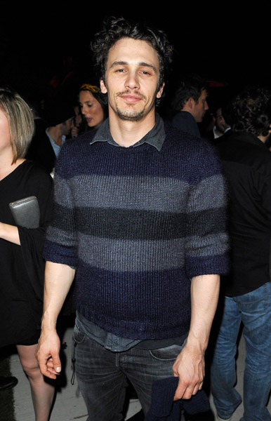 "movetheair:  James Franco attends a  vitaminwater celebration of The Film ""Killer Joe"" at the 2011 Toronto  International Film Festival at vitaminwater Rooftop on September 11,  2011 in Toronto, Canada."