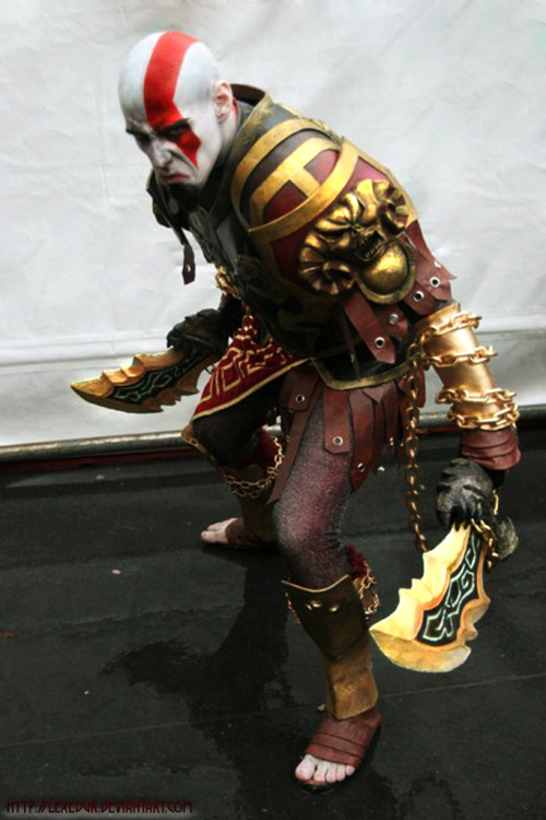 kabukiarcade:  Cosplay do Dia: Kratos - God of War