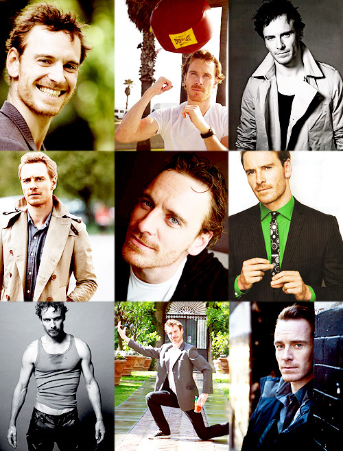 Top 25 Favorite Photoshoot Hunks in no particular order  → Michael Fassbender