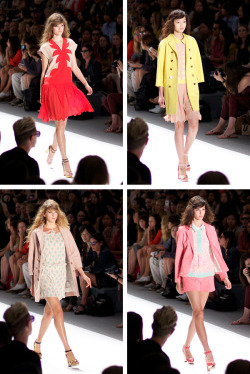 calivintage:  jill stuart spring 2012. you can click-through for many more photos that i took at the show! by calivintage.
