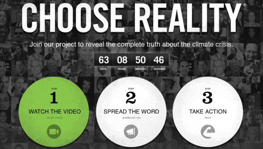 "abr:  mothernaturenetwork:  Al Gore in 24-hour broadcast to convert climate skeptics""24 Hours of Reality"" will broadcast a presentation by Al Gore every hour for 24 hours across 24 different time zones from Wednesday to Thursday, with the aim of convincing climate change deniers and driving action against global warming among households, schools and businesses.  ""THE TRUTH"" : In other times we used to call that ""A BRAIN WASH"".   How to Convert to a New Religion."