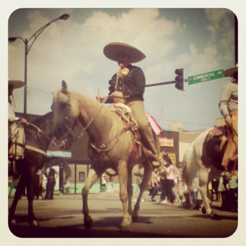 Mexican Independence Day Parade (Taken with instagram)