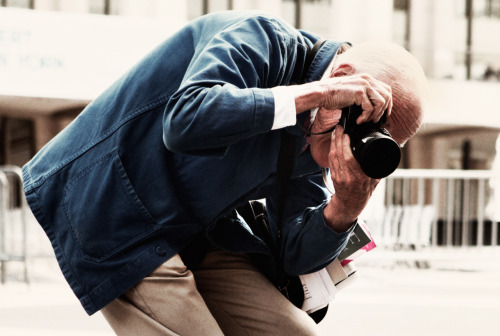 texturism: bill cunningham. perspective. | via torypedia   Bill Cunningham is the cutest man.