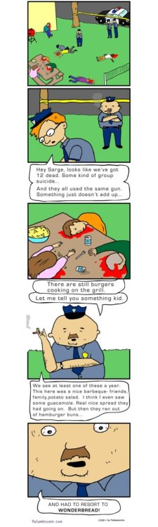 BBQ Suicide - by Fatawesome - (Click to view larger)