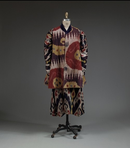 Bokharan ensemble via The Costume Institute of the Metropolitan Museum of Art