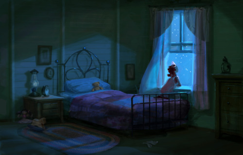 scurviesdisneyblog:  The Princess And The Frog Concept Art By Lisa Keene