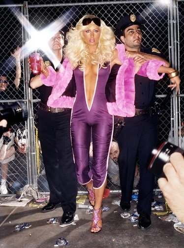 guyhepner:  David LaChapelle - Paris Hilton - Hi Bitch, Bye Bitch