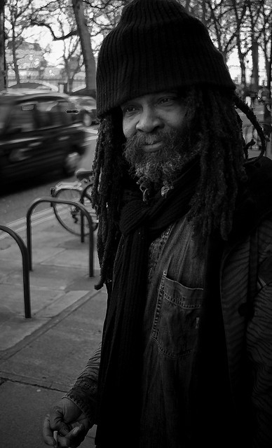 Street Rasta by Rangefinder general on Flickr.