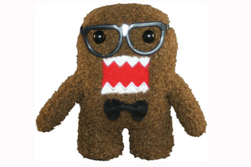 Domo nerd plush! (via 10 Awesome Domo Products From Around The Web! » MTV Geek )