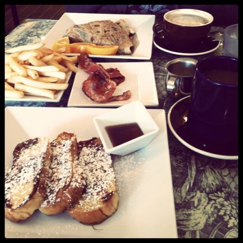 Post-wedding breakfast | Bonjour Crepe Company (Cupertino, CA) (Taken with instagram)