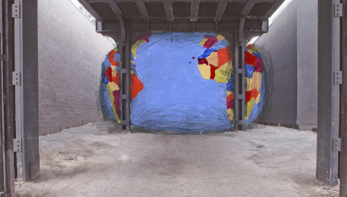 David Byrne To Build Giant Inflatable Globe At The High Line