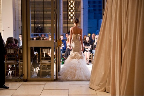 vogue:  ON THE RUNWAY: Zac Posen Spring 2012
