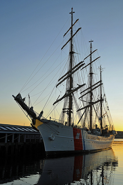 USCGC Eagle … Training Vessel of the US Coast Guard [from my Gallery of Classic Sailing Ships on Flickr] Flickr Gallery here:  http://www.flickr.com/photos/7437991@N08/galleries/72157622428526652/