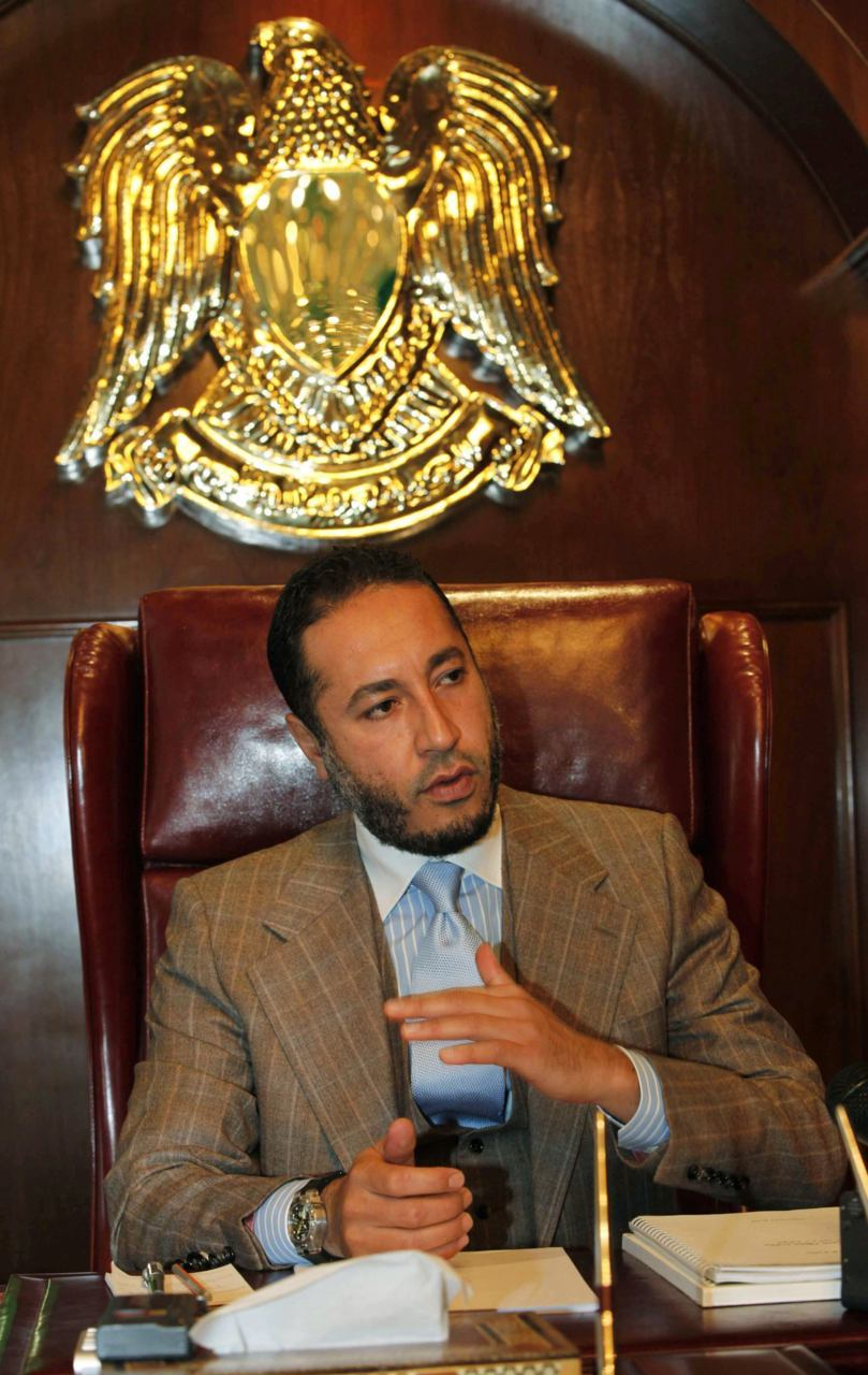 "Gaddafi's son under surveillance in Nigeria, may be detainedA U.S. official said Monday that Niger was preparing to detain Saadi Gaddafi, a son of former Libyan strongman Muammar Gaddafi, who was among a group of Libyans fleeing to the African country.""We have confirmed with the government of Niger that Saadi crossed over, that they are either in the process or have already brought him to the capital of Niamey and intend to detain him,"" State Department spokeswoman Victoria Nuland said.Saadi Gaddafi was among 32 members of the fugitive former Libyan leader's inner circle, who have arrived in Niger since September 2, according to Niger's Prime Minister. (Photo: Ismail Zetouny/Reuters)"