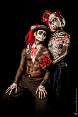 smokefish:  DayoftheDead Wedding by NathanHiroshi