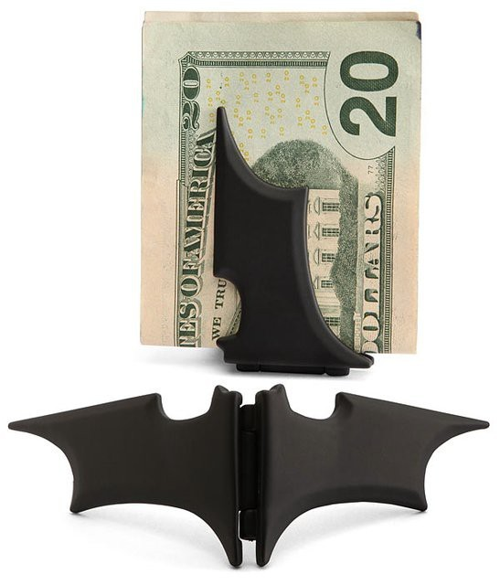 The Batman Money Clip Not to be used on a first date.