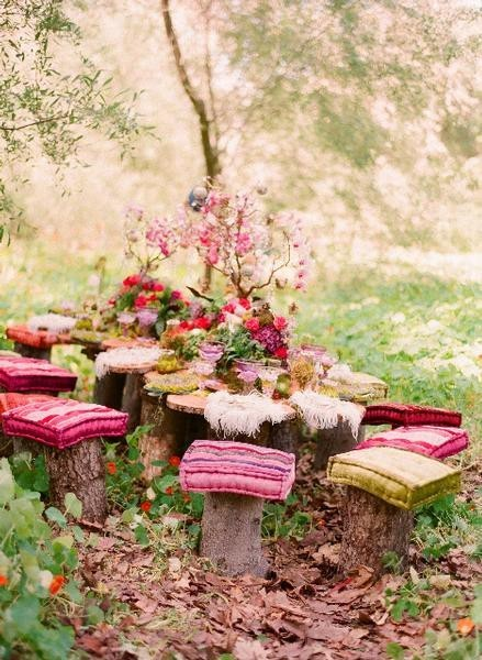 My Bohemian Celebration  A fairy picnic?