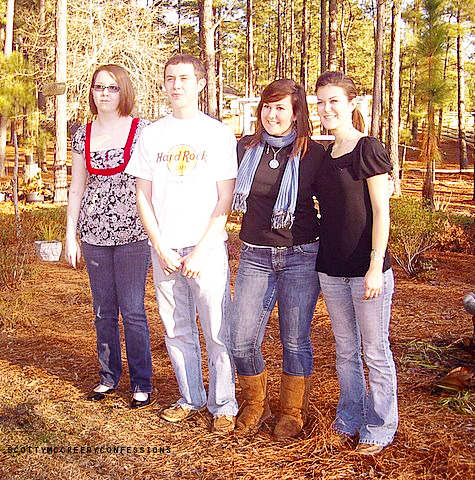 Scotty, Ashley & their cousins.