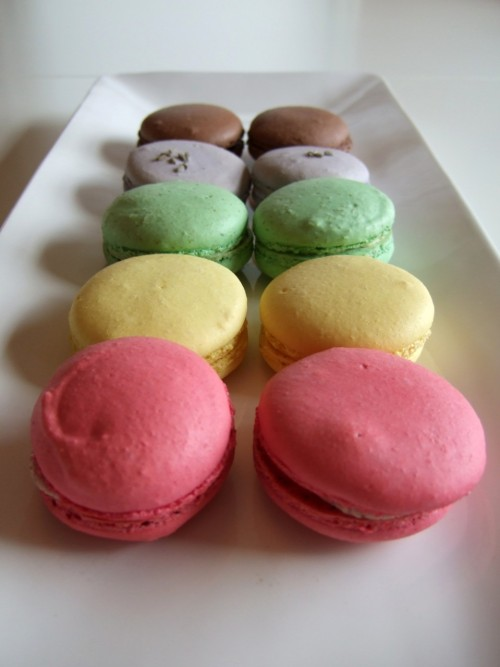 We were talking about macarons today in French and now I'm really really craving some.