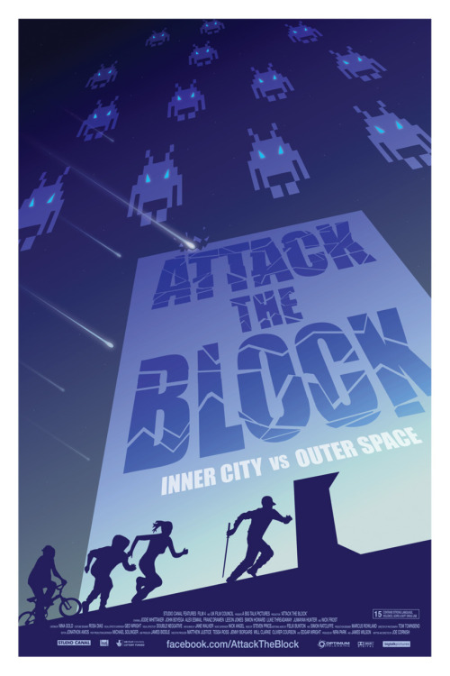 minimalmovieposters:  Attack the Block by Ollie Boyd