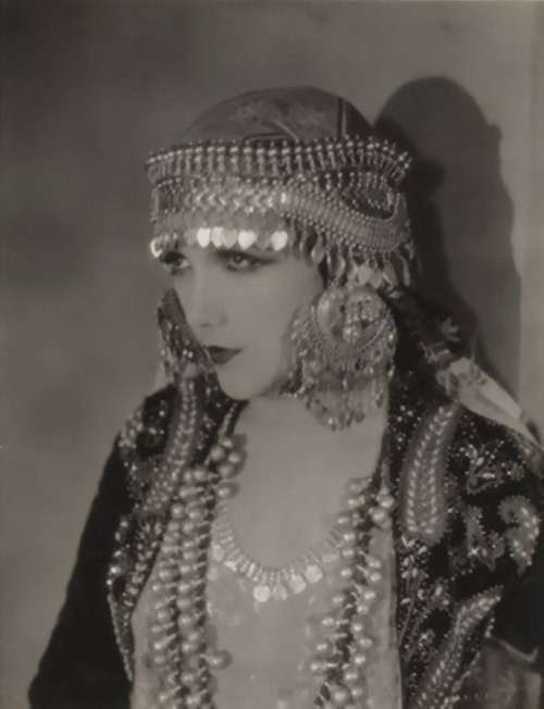 My Bohemian History  Perfection! Silent film star Jetta Goudal.