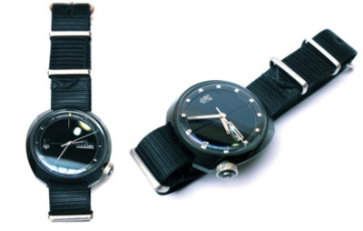 MARCH LA.B X UNION - Black Steel in the hour of Chaos Commando Watch Gorgeous Watch.