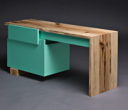 sugarinspirations:  Lagomorph Design Desk.
