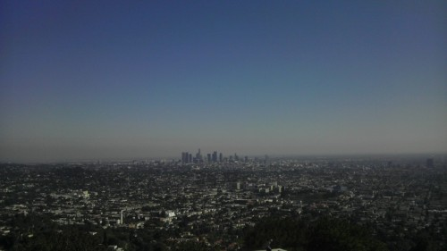 the view of LA from the observatory.  only can imagine how amazing it looks at night!