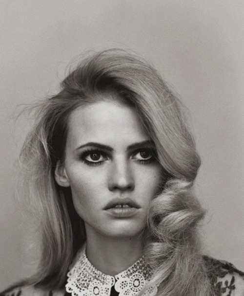 moldavia:  Lara Stone in Self Service No. 34 by Alasdair McLellan