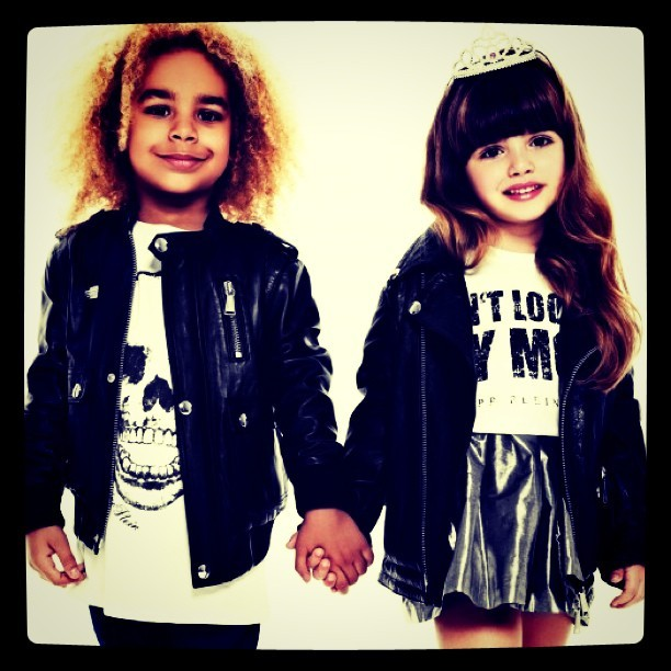Rock 'n' Roll Fairytale: #Philipp #Plein #Petite #kids (Taken with instagram)