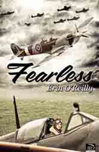 [image description: the cover of Fearless by Erin O'Reilly. The cover has many old-fashioned planes, with a woman pilot in goggles visible. End description.] Fearless by Erin O'Reilly was reviewed The Rainbow Reader. (via the Lesbrary)