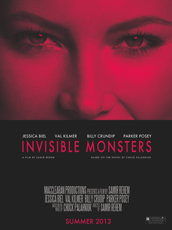 INVISIBLE MONSTERS movie poster by Vincent Gabriele