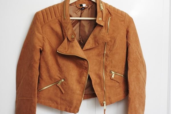 sevvven:  H&M Leather Jacket