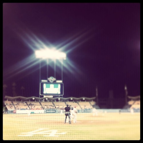 dodgers night (Taken with instagram)