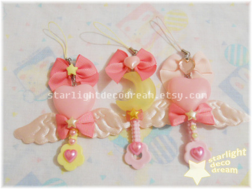 kyandi:  Magical Girl Wand Phone Straps ~ ☆