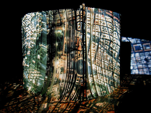 photography-student:  Rome projected onto an atlas by Wieslaw Z. Michalak