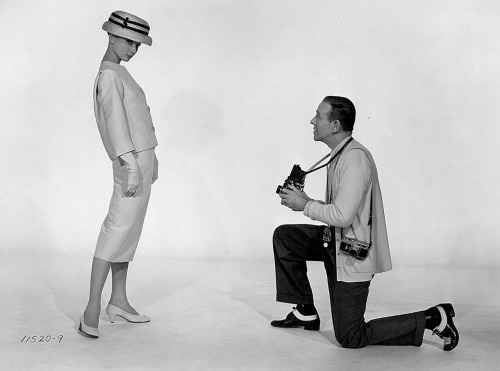 Audrey Hepburn and Fred Astaire in Funny Face (Stanley Donen, 1957)