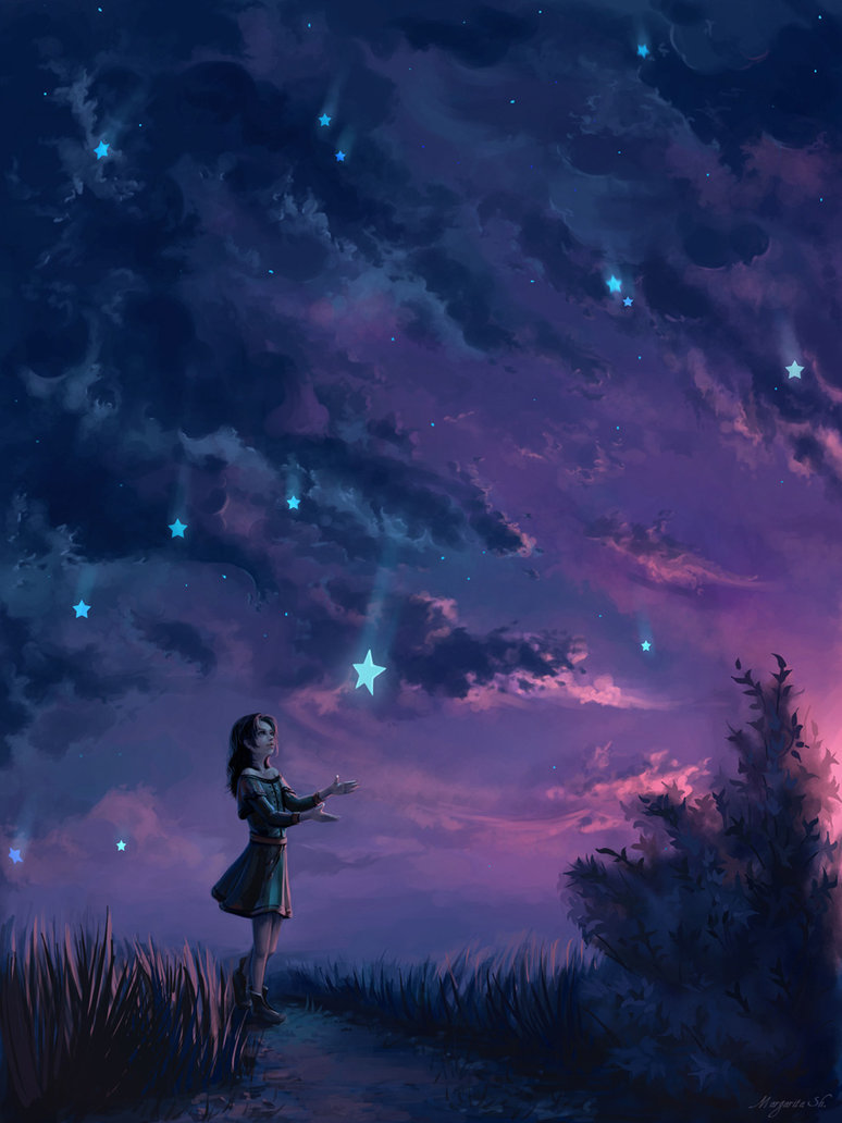 Rain of stars by ~Mar-ka