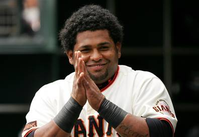 Gracias.— Pablo Sandoval, to Dave Flemming, on KNBR during a post-game interview. The Giants trounced the Padres 8-3 with help from a 7th inning three-run homer.