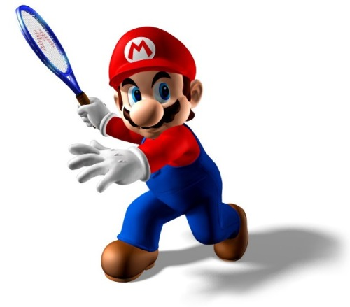videogamenostalgia:  Mario Tennis is coming to the 3DS Here's even more 3DS-related news as Nintendo has announced a new Mario Tennis title coming to the 3DS. The game will feature a gyro play mode and will be available on the 3DS sometime in 2012.  Now you get to feel like balls are flying every which way at you in 3-D! Hooray!