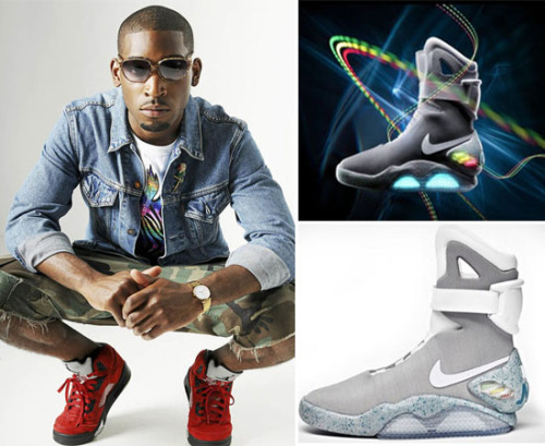 @TinieTempah buys Marty McFly's @Nike Air Mags for $37.5k More