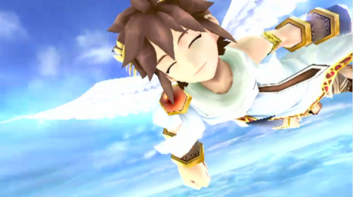 videogamenostalgia:  Where's Kid Icarus Uprising? Wasn't that one of the first games shown to show off the 3DS? Turns  out, Nintendo didn't forget, but not by much. It's still in development  but won't be seen until 2012. All of you hoping it would be out by the  holidays, keep saving your pennies. I know I sure will.  The Nintendo 3DS is going be turning. you. out!