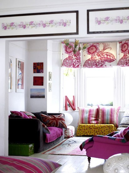 fuchsia in the living room?