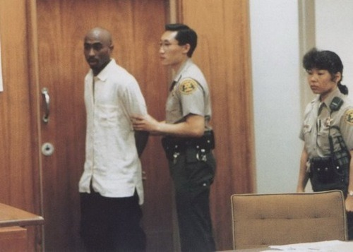 leratchethippie:  yourhomegirlbd:    Pac stood up, and it's the first thing you heard him say in like, two weeks of court. 'You know, your honor, throughout this entire court case, you haven't looked me or my attorney in the eye once. It's obvious that you're not here in the search for justice, so therefore, there's no point in me asking for a lighter sentence. I don't care what you do cause you're not respecting us, this is not a court of law; as far as I'm concerned, no justice is being served here, and you still can't look me in the eye. So I say, do what you wanna do, give me whatever time you want, because I'm not in your hands, I'm in God's hands.  I love him. 108372947th reblog.  OHHHH THE LAST SENTENCE THOUGH. TELL EM HOW ITS DONE IN THE HOOD, PAC.   👏🙌