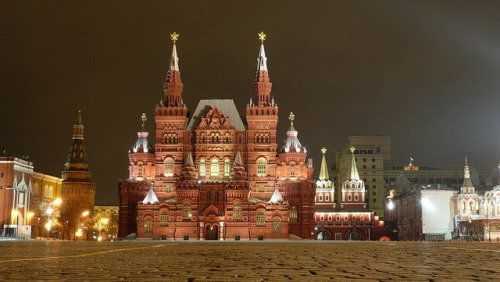 Museum of National History, Moscow - Государственный Исторический музей, Москва by Sir Francis Canker Photography © on Flickr.