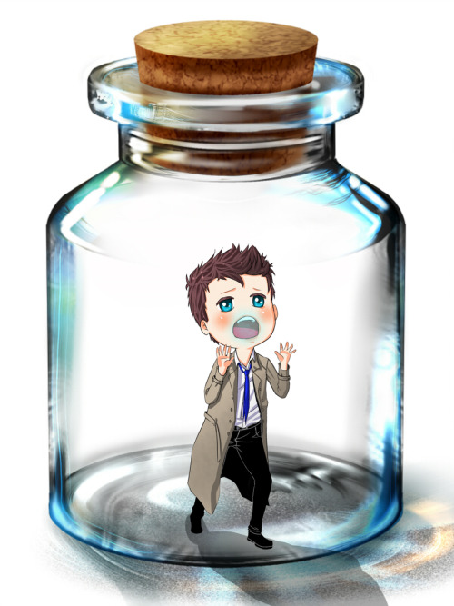 Dean, Help me ! I'm trapped in the bottle like Tinkerbell    by mistressreborn