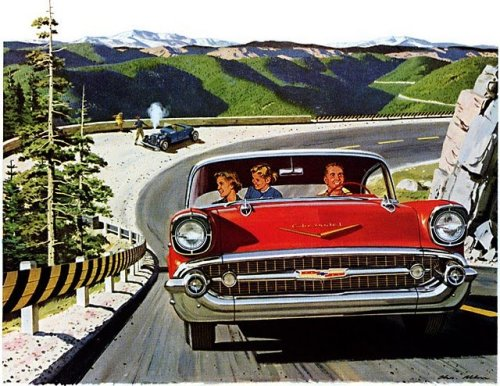 Chevrolet Bel Air vintage ad