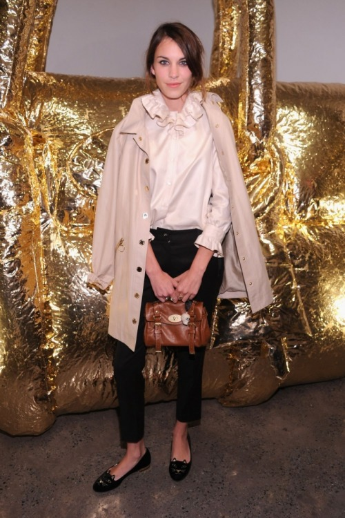 effyeahalexachung:  Alexa at the Mulberry 40th anniversary party in New York