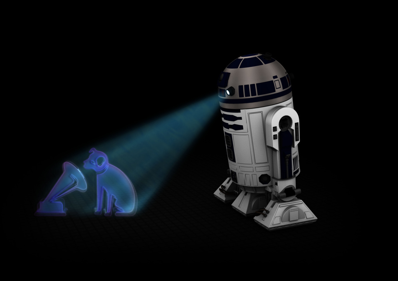 hmv R2D2 Logo Just in case you haven't seen it yet, check out our awesome R2D2 hmv logo redesign to celebrate the release of the complete Star Wars Saga on Blu-ray. It was even approved by LucasFilms! What do you think?