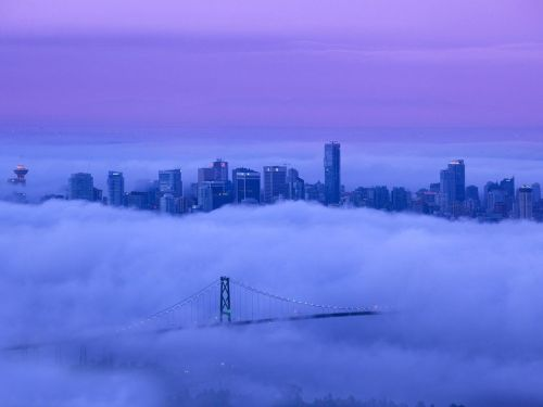 sashayall:  theworldwelivein:  Lions Gate Bridge, Vancouver, British Columbia, Canada © Mathieu Dupuis | National Geographic  I want to visit here so badly!